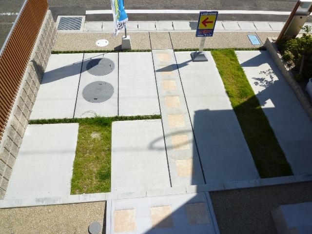 駐車場の施工例です。