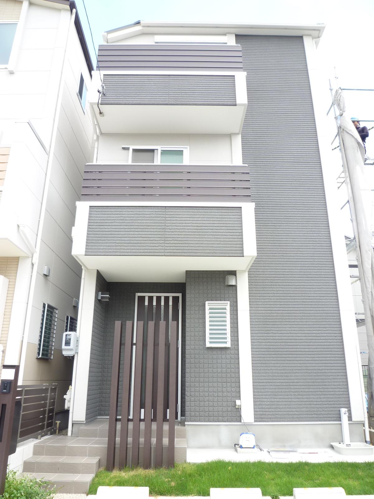 南入り 4LDK 33.56坪 木造3階建て 間口5750mm