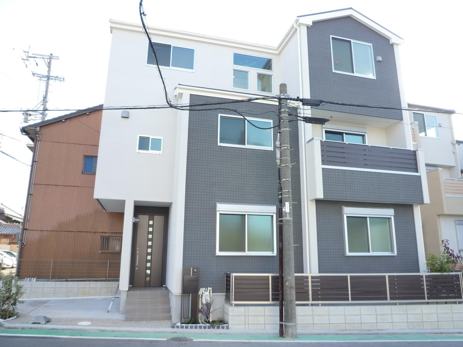 西入り 4LDK 木造3階建 31.77坪