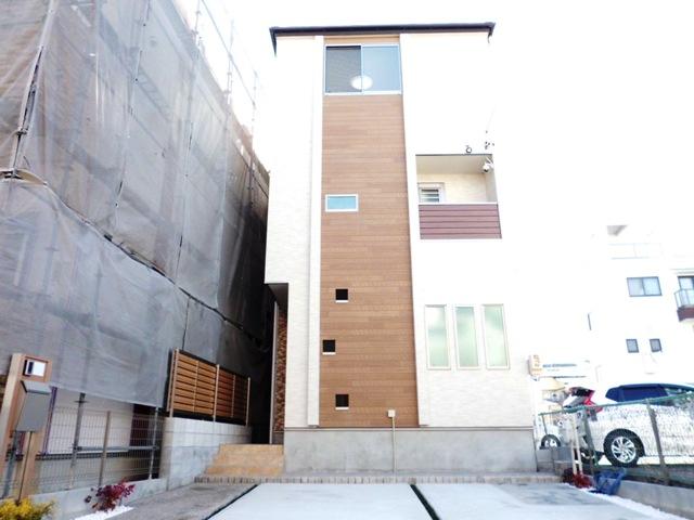 北入 4LDK 木造3階建て 34.69坪 間口6445mm