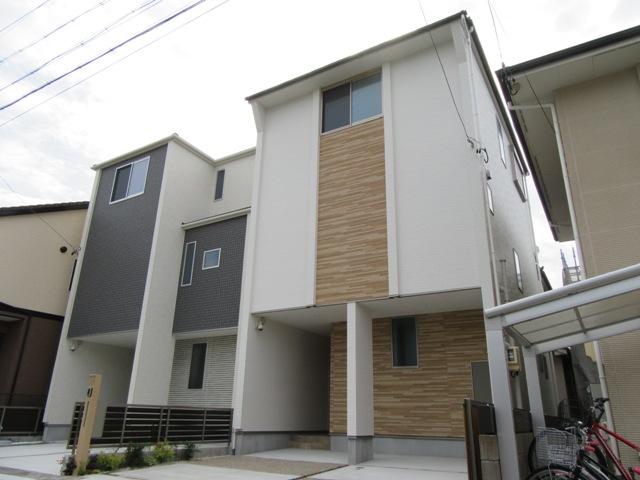 北入 4LDK 木造3階建て 36.07坪 間口6450mm