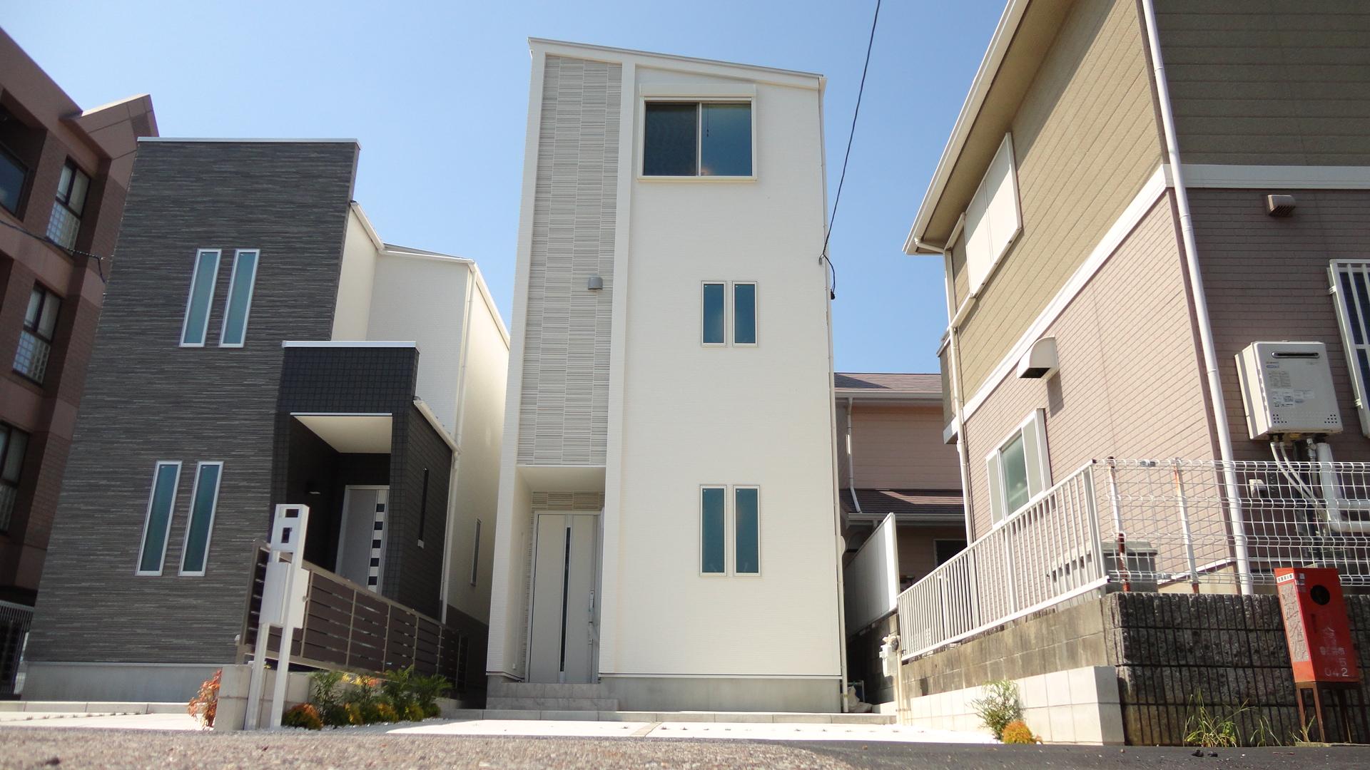 北入 4LDK 木造3階建て 33.50坪 間口5160mm