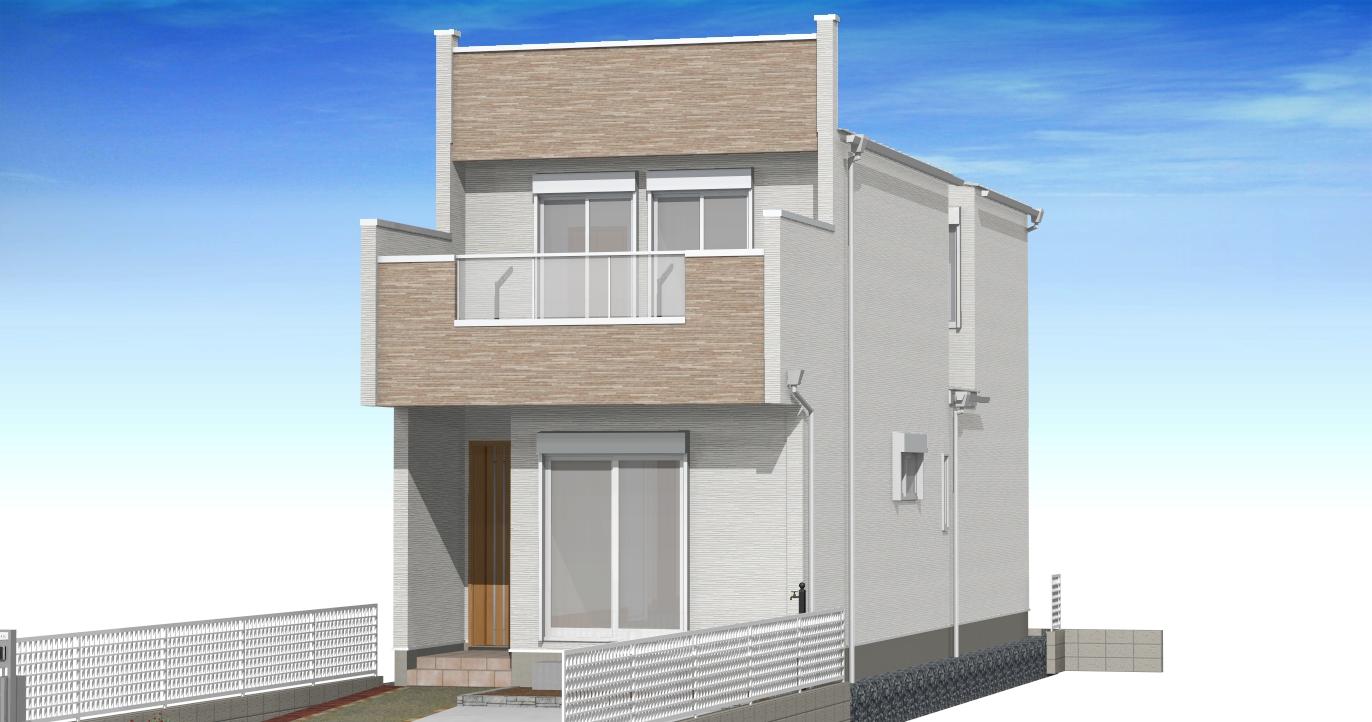 西区・南堀越の家第二 D棟4,080万円