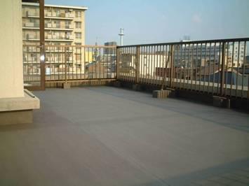 ベランダ・屋上の防水 名古屋市北区 M様邸
