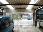 駐車場(パイプシャッター付ガレージ)の新設 名古屋市北区
